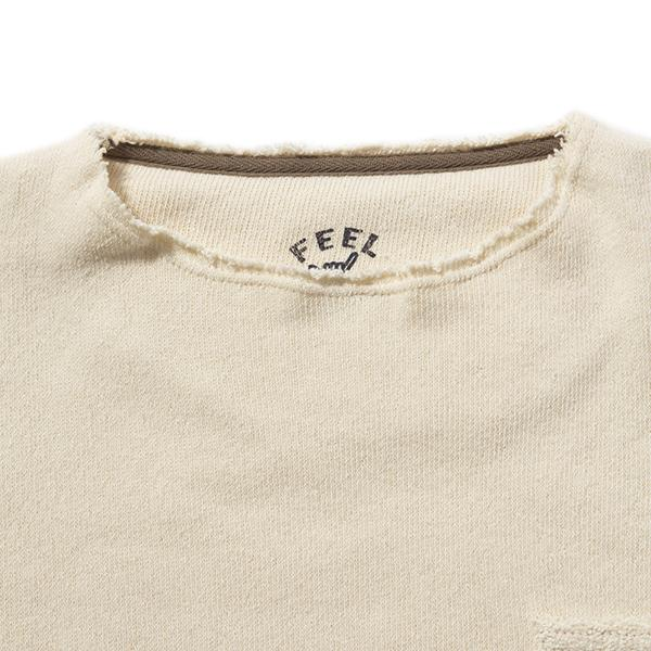 feel so easy good things for relaxing | フィールソーイージーグッドシングスフォーリラクシング pile sweat cutoff