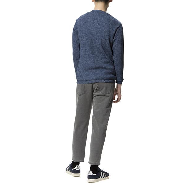 feel so easy good things for relaxing | フィールソーイージーグッドシングスフォーリラクシング Indigo Stretch Sweat Side Rib Pants