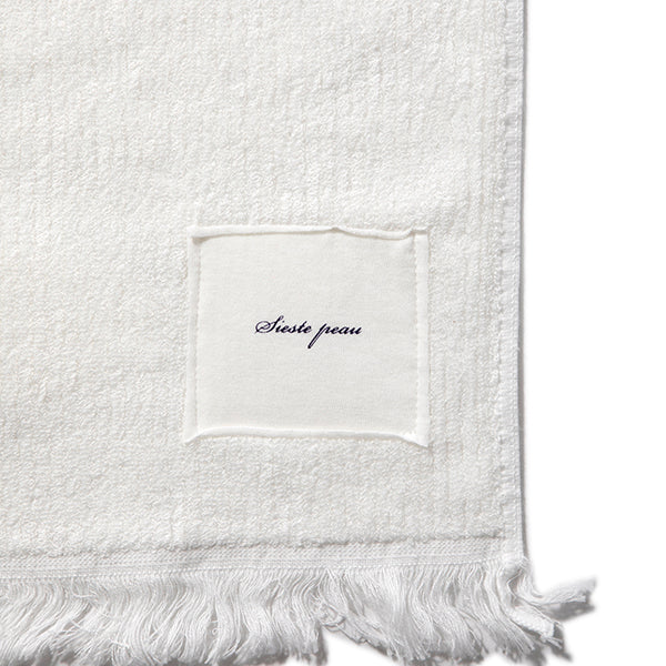 sieste peau | シエスタポー Bamboo Cotton Rib Face Towel