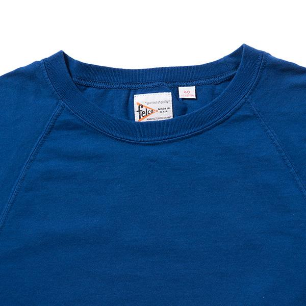 FELCO | フェルコ S/S RAGLAN CREW NECK-T(18'S SINGLE TUBULAR JERSEY)