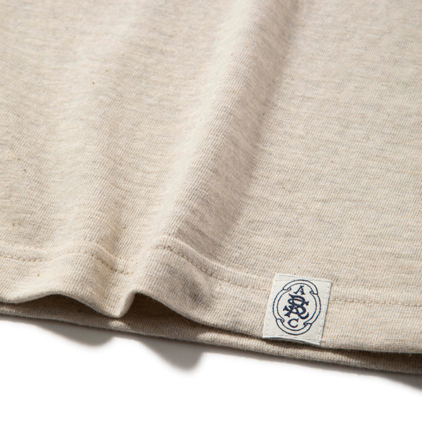 RIDING HIGH | ライディングハイ LOOP WHEEL HENLEY S/S TEE