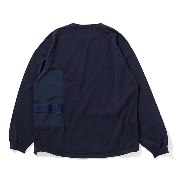 BRIEFING x REMI RELIEF | ブリーフィング×レミレリーフ  Begin別注 ブリーフィングL/S② ミッドナイト