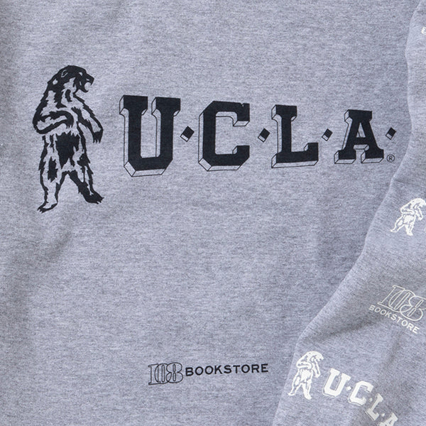 UCLA | ユーシーエルエー ×108 Begin別注 PENNANT 80S BEAR CREW-NECK SWEAT
