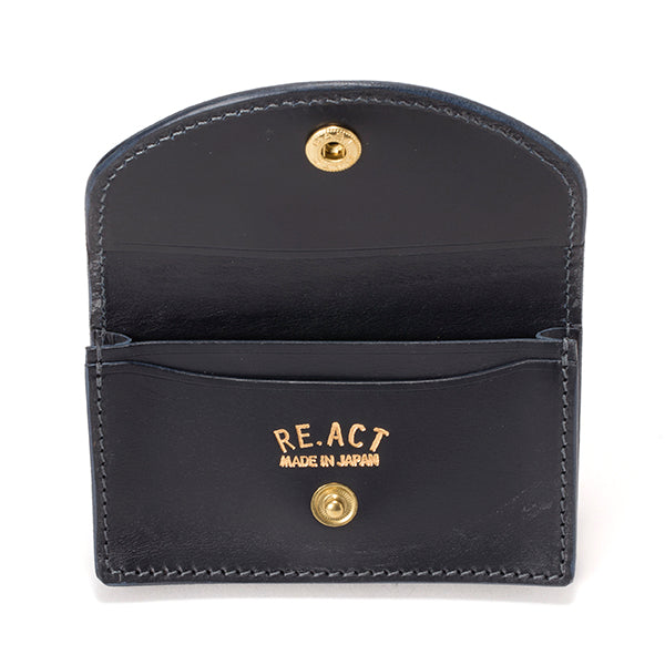RE.ACT LEATHER WORKS | リアクトレザーワークス INDIGO CARD CASE