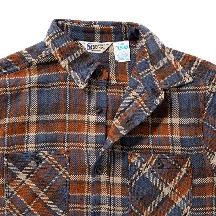 FIVE BROTHER | ファイブブラザー HEAVY FLANNEL WORK SHIRTS