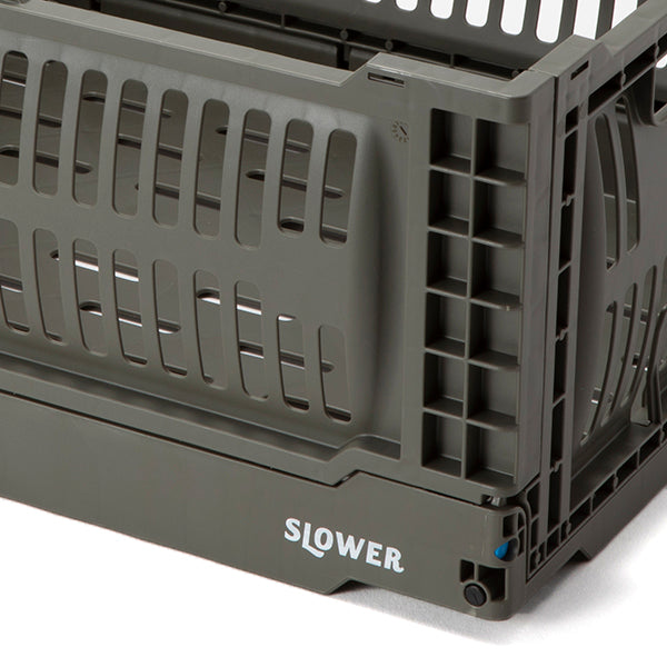 SLOWER | スロウワー FOLDING CONTAINER Bask(L)