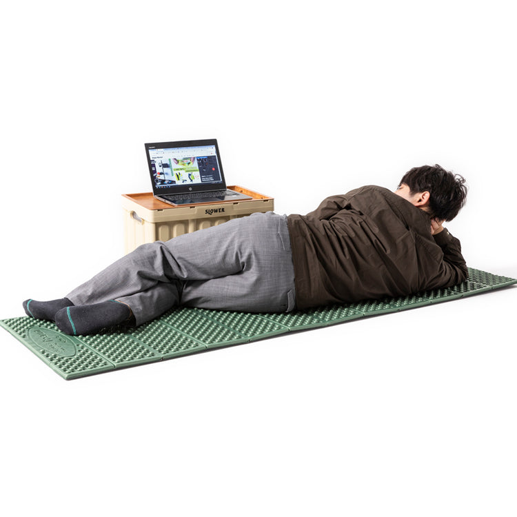 SLOWER | スロウワー FOLDABLE RUNNER MAT Traum
