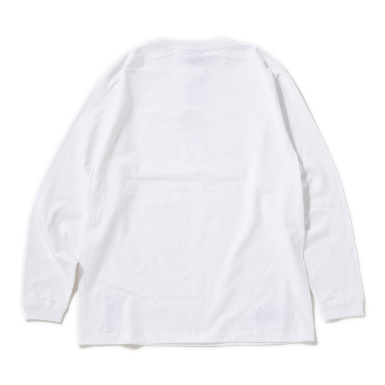Manastash | マナスタッシュ MOON SMILE LONG SLEEVE TEE