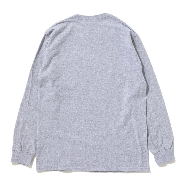 MANASTASH | マナスタッシュ LOGO PATCH POCKET LS TEE