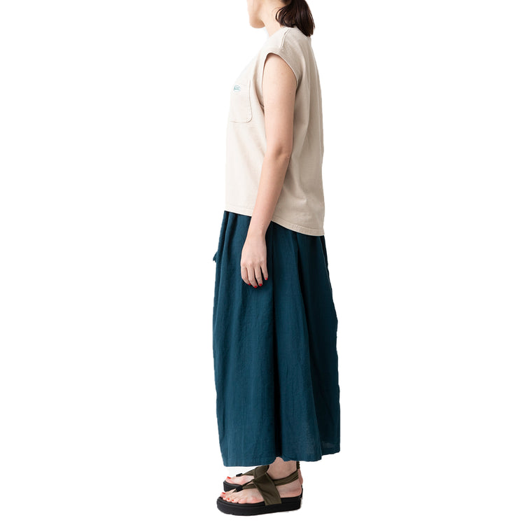 MANASTASH | マナスタッシュ SLEEVELESS POCKET TEE