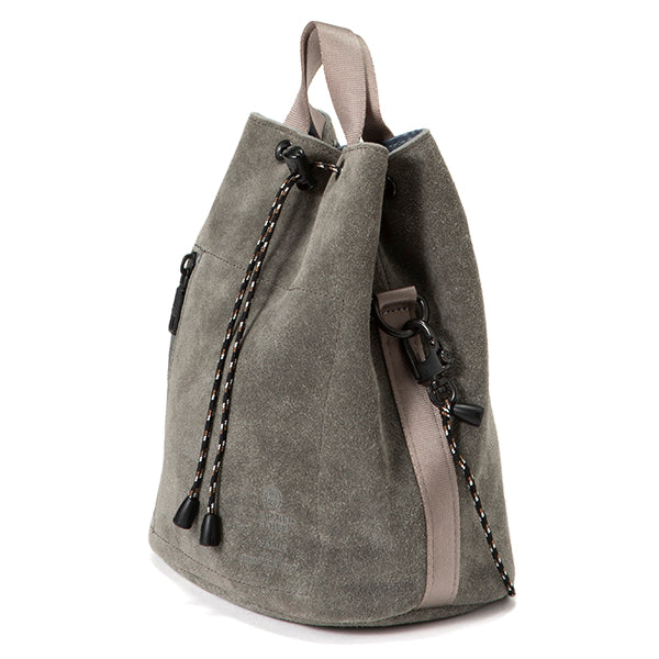 AS2OV | アッソブ WATERPROOF SUEDE DRAW STRING BAG