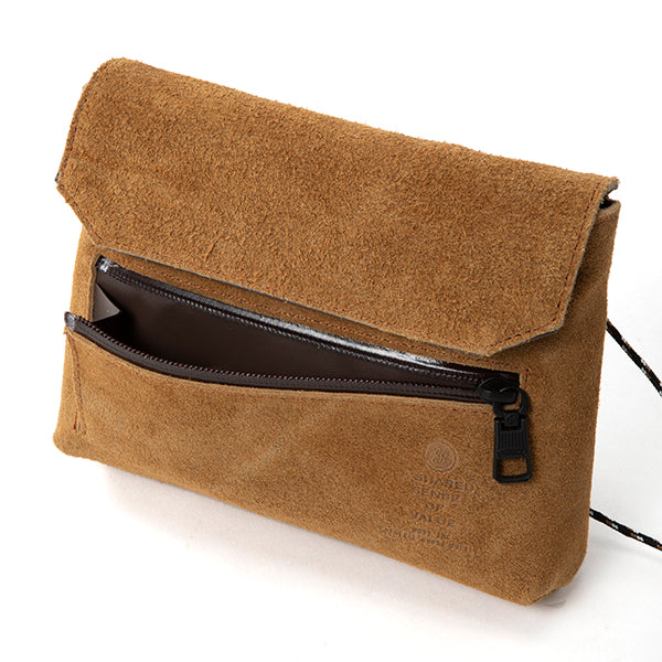 AS2OV | アッソブ WATERPROOF SUEDE WALLET SHOULDER