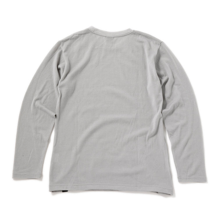 YETINA | イエティナ L/S knitted merino T-shirt