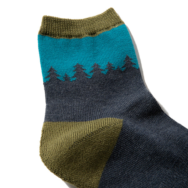 GOHEMP | ゴーヘンプ PATTERN PILE QUARTER SOCKS