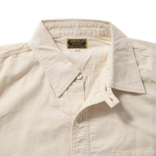 GOWEST | ゴーウエスト WHT CHAMBRAY WORK SHIRTS