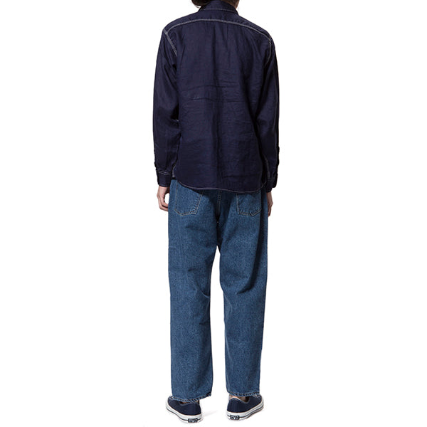 GOWEST | ゴーウエスト LOOSE TAPERED PANTS/14oz SELVAGE DENIM(used wash)