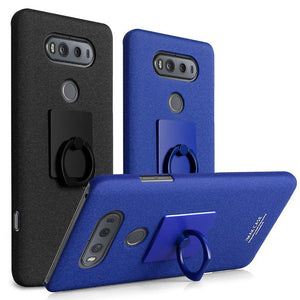 Back Cover Case for LG V20 with Ring Holder Stand