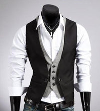 Load image into Gallery viewer, Men's Slim Fit Layered Vest