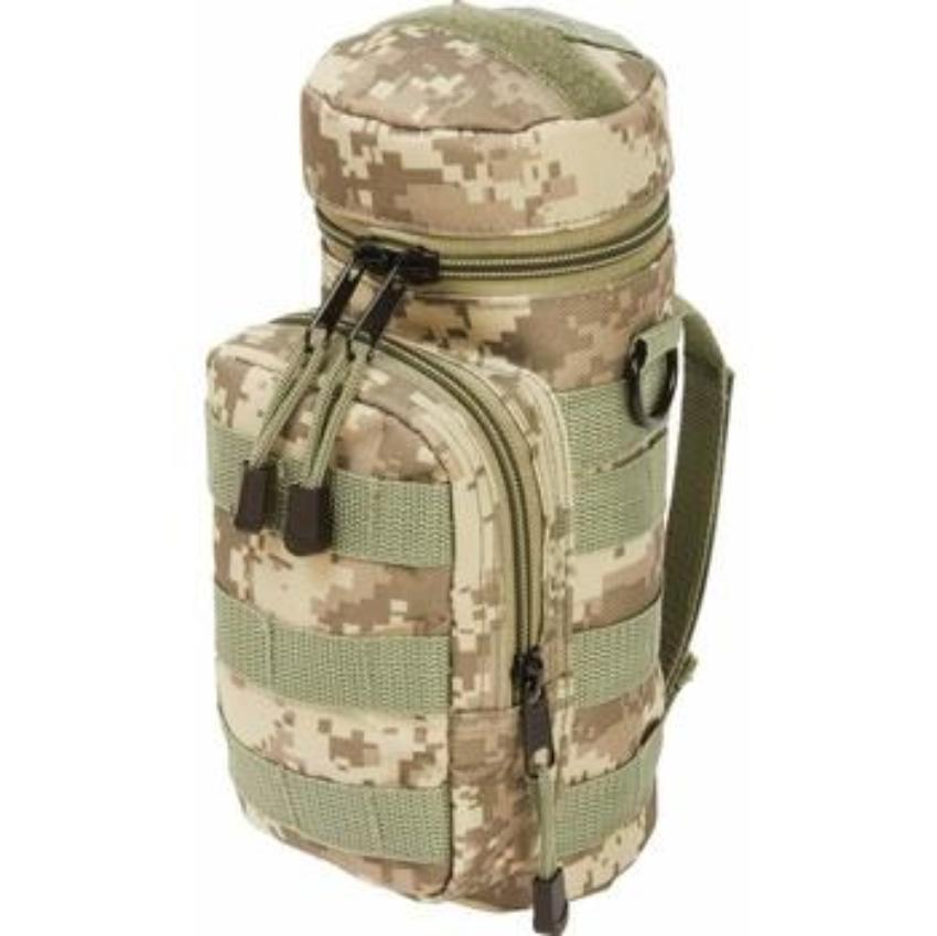 Extreme Pak Digital Camo Water Bottle MOLLE Pouch 2 units value pack