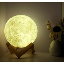 Load image into Gallery viewer, Glowing Moon Lamp