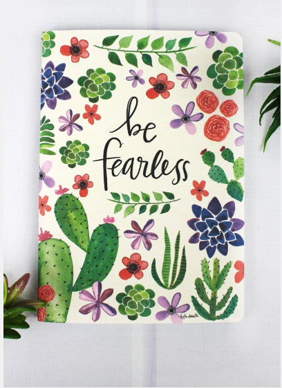 BE FEARLESS SOFTCOVER JOURNAL