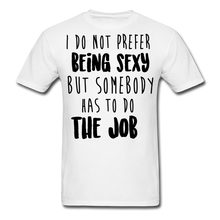 Load image into Gallery viewer, I Do Not Prefer-Men's T-Shirt - white