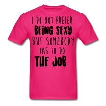 Load image into Gallery viewer, I Do Not Prefer-Men's T-Shirt - fuchsia