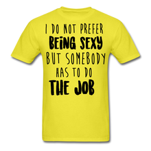 Load image into Gallery viewer, I Do Not Prefer-Men's T-Shirt - yellow