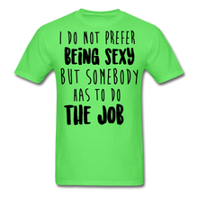 Load image into Gallery viewer, I Do Not Prefer-Men's T-Shirt - kiwi