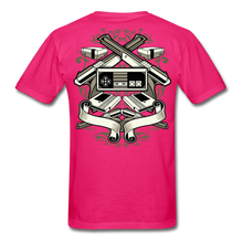 Load image into Gallery viewer, Escape Reality-Men's T-Shirt - fuchsia