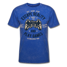 Load image into Gallery viewer, Escape Reality-Men's T-Shirt - mineral royal