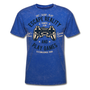 Escape Reality-Men's T-Shirt - mineral royal