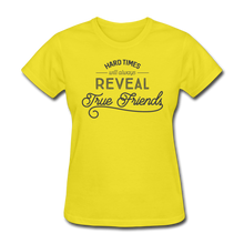 Load image into Gallery viewer, Hard Times-Women's T-Shirt - yellow