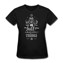 Load image into Gallery viewer, Our World-Women's T-Shirt - black