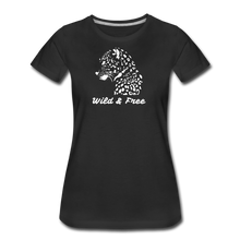 Load image into Gallery viewer, Wild & Free-Women's Premium T-Shirt - black