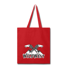 Load image into Gallery viewer, Wild West-Tote Bag - red