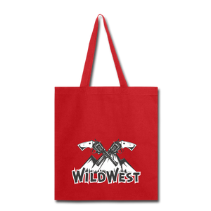 Wild West-Tote Bag - red