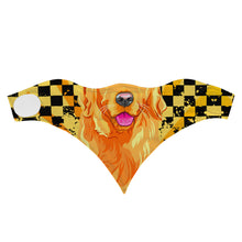 Load image into Gallery viewer, Yellow Dog-Childerns Sports Scarf/Bandana