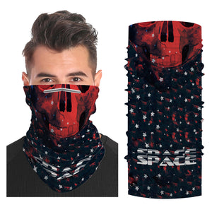 Printed Snood Scarf