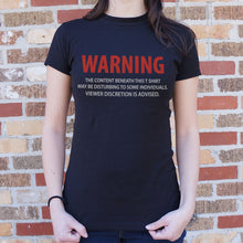 Load image into Gallery viewer, Viewer Discretion T-Shirt