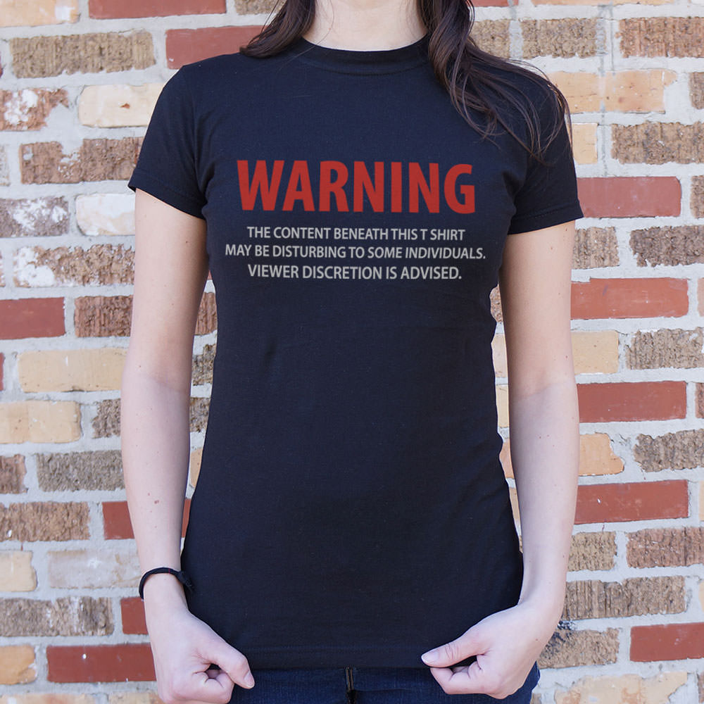 Viewer Discretion T-Shirt