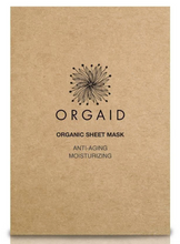 Load image into Gallery viewer, ORGAID Organic Sheet Mask: ANTI-AGING & MOISTURIZING Single Sheet