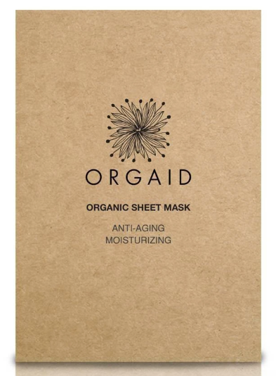 ORGAID Organic Sheet Mask: ANTI-AGING & MOISTURIZING Single Sheet