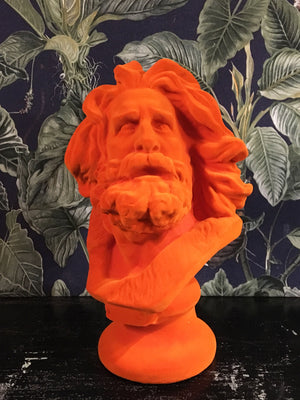 Fabulous Flocked Marseillaise Bust - Orange