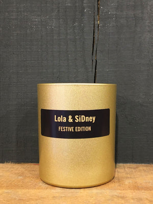 L&S Candle Festive - Gold Edition