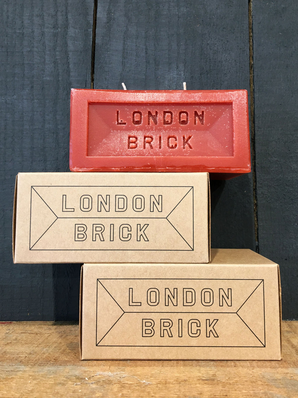 London Brick Candle - Fired Clay