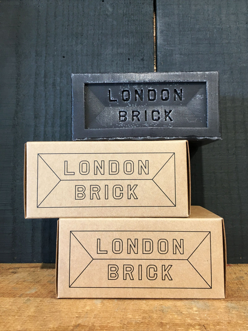 London Brick Candle - Smoked Coal