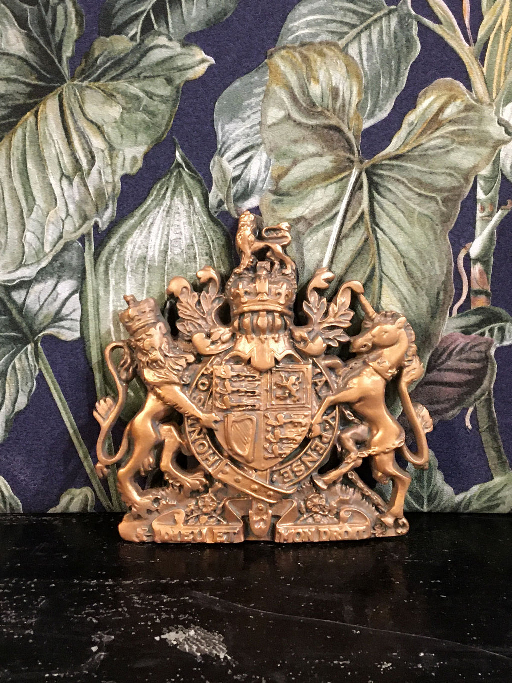 Fabulous Coat of Arms Plaque