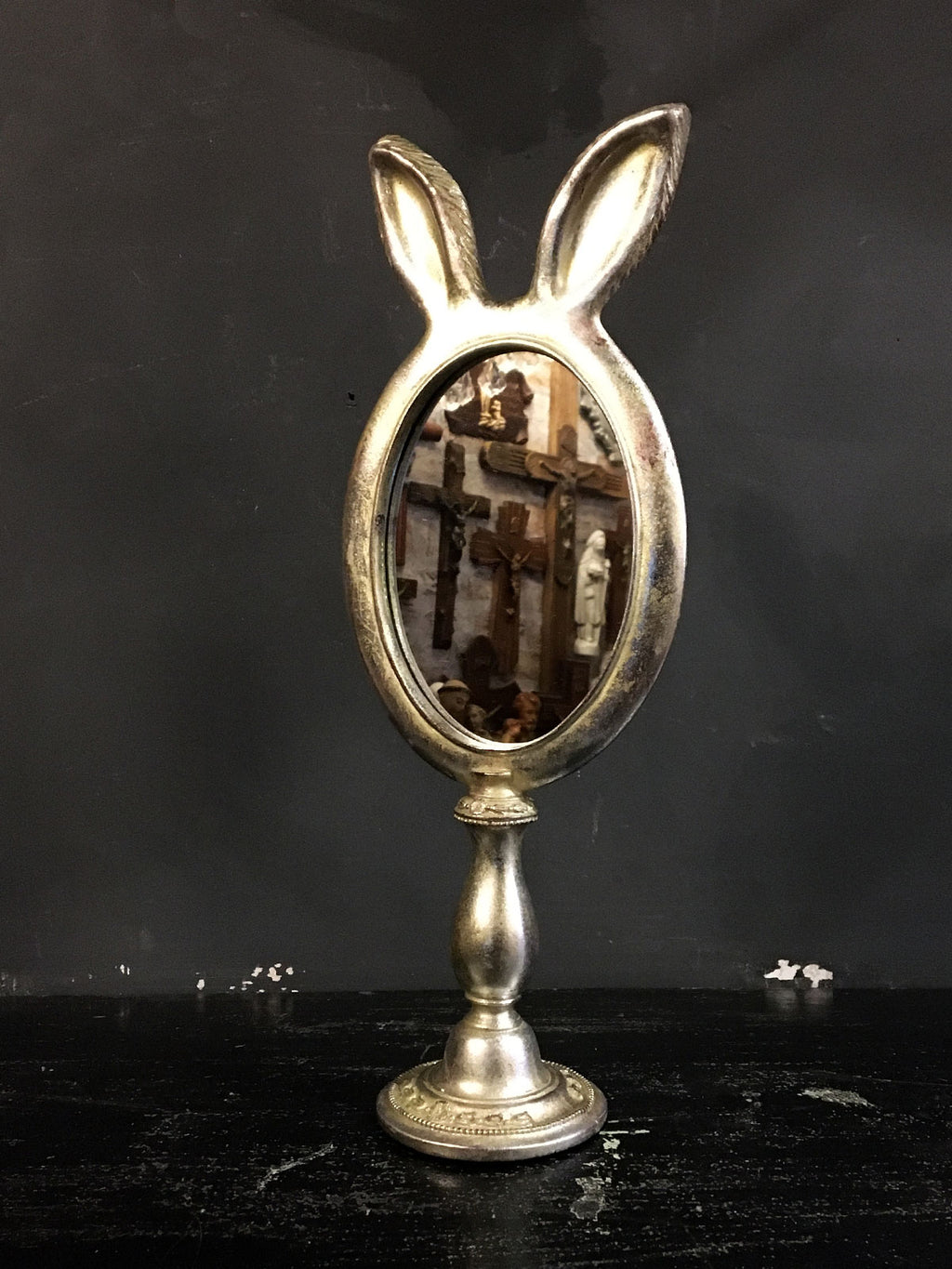 Rabbit Ears Table Mirror - Small