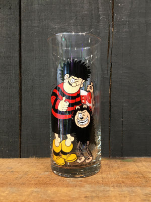 Vintage Coloroll Dennis the Menace Hi-Ball Glass
